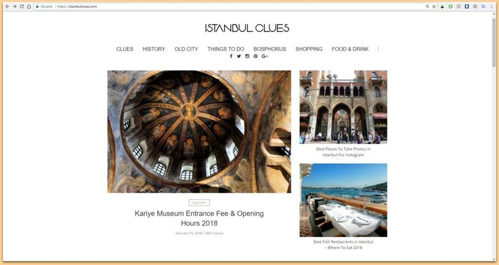 Istanbul Clues Blog