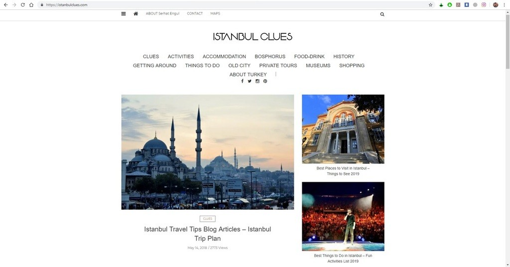 Istanbul Clues Travel Guide and Blog
