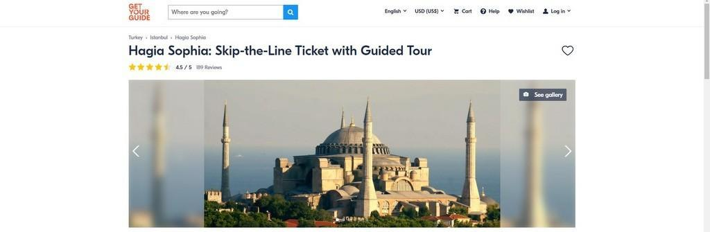 hagia sophia tickets in advance