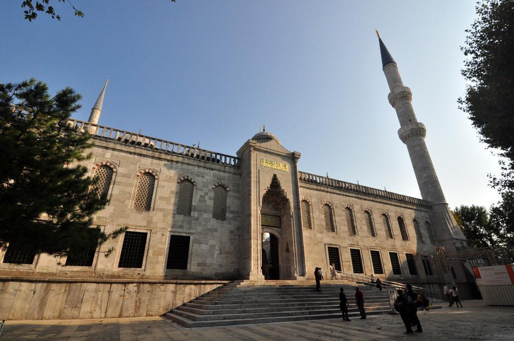 Blue Mosque history