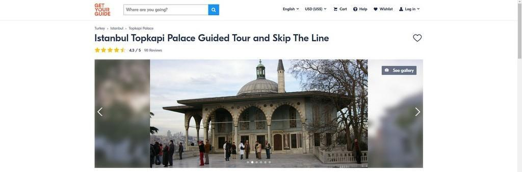Topkapi Palace Skip-the-Line Tickets